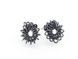 Sterling silver earrings, no.219