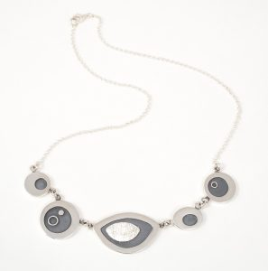 Sterling silver necklace, no.325